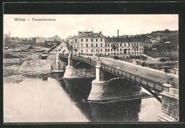 AK Wilna, Blick Auf Die Tierparkbrücke - Litauen
