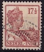 Ned. Indië: Langebalkstempel BODJONEGORO (140) Op 1913-1932 Koningin Wilhelmina 17 ½  Cent Roodbruin NVPH 119 - Indes Néerlandaises
