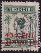 Ned. Indië: Langebalkstempel BOELOEKOEMBA (144) Op 1921 Hulpuitgifte Koningin Wilhelmina Met Opdruk 40/60 Cent NVPH 146 - Indes Néerlandaises