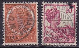 Ned. Indië: 1903-1913 SOERABAJA-OUDE HOSP. STR. (753-754) 2 Verschillende Types Op NVPH 56-115 - Indes Néerlandaises