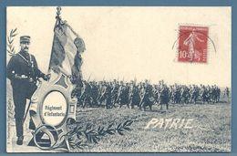 CPA - INFANTERIE - Regiments