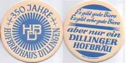 #D164-161 Viltje Hofbrauhaus Dillingen - Sous-bocks
