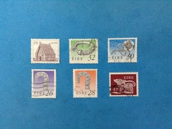 IRLANDA EIRE LOTTO DA 6 FRANCOBOLLI USATI STAMPS USED (65b) - Collezioni & Lotti