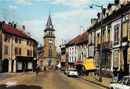 88-SAINT-DIE- EGLISE SAINT-MARTIN ET RUE D'ALSACE - Saint Die