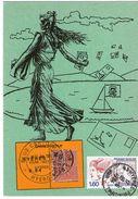 CPM   CLUB CARTOPHILE 83   HYERES     1984 - Borse E Saloni Del Collezionismo
