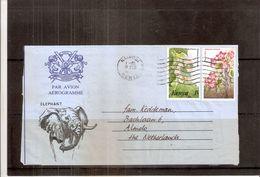 Aerogramme From Kenya To The Netherlands 1985 (to See) - Kenya (1963-...)