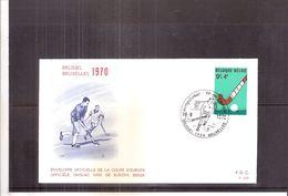 Sports - Hockey - FDC Belgique - Hockey (sur Gazon)