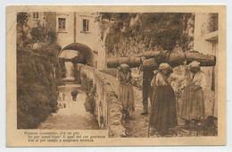 PAESAGGIO  DA  IDENTIFICARE  CON  POESIA  1941   2 SCAN   (VIAGGIATA) - Postcards