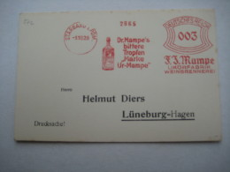 Firmen Freistempel , Meterstempel Auf Beleg Aus  Stargard I. Pommern   1929 - Duitsland