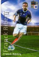 Magnet Magnets Football Carrefour Equipe France En Relief Franck Ribery - Sports
