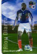 Magnet Magnets Football Carrefour Equipe France En Relief Alou Diarra - Sports