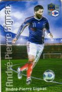 Magnet Magnets Football Carrefour Equipe France En Relief André Pierre Gignac - Sports
