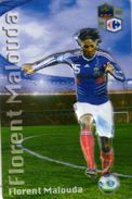 Magnet Magnets Football Carrefour Equipe France En Relief Florent Malouda - Sports