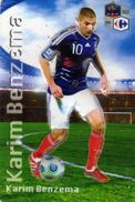 Magnet Magnets Football Carrefour Equipe France En Relief Karim Benzema - Sports