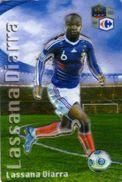 Magnet Magnets Football Carrefour Equipe France En Relief Lassana Diara - Sports