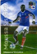 Magnet Magnets Football Carrefour Equipe France En Relief Moussa Sissoko - Sports