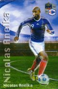 Magnet Magnets Football Carrefour Equipe France En Relief Nicolas Anelka - Sports