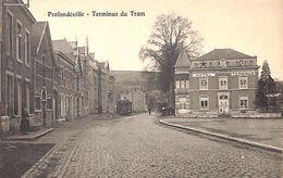 Profondeville - Terminus Du Tram (Hôtel, Animée, Tramway) - Profondeville
