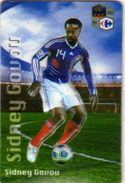 Magnet Magnets Football Carrefour Equipe France En Relief Sidney Govou - Sports