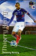Magnet Magnets Football Carrefour Equipe France En Relief Thierry Henry - Sports