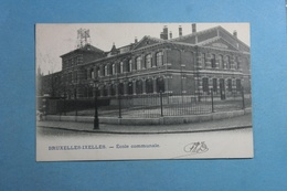 Bruxelles Ixelles Ecole Communale - Ixelles - Elsene