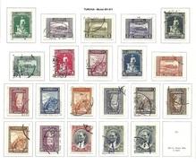 TURCHIA 1930 - Tematiche Diverse - 21 Valori - Mi:TR 891-911 - Usati