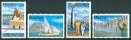 1984 Mauritius Fishery Resources Infrastrutture Infrastructure Set MNH** - Mauritius (1968-...)