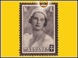 Belgium 0415-V13** Astrid - ( Br_vr ) - Variétés (Catalogue Luppi)