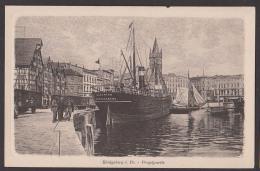 Königsberg I. Pr. Kaliningrad Pregelpartie Hafen Mit Schiff Albertus, Karte Unbeschrieben - Ostpreussen