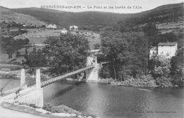 Pont Serrières Sur Ain Hautecourt Romanèche Cantons Izernore Et Ceyzériat - Francia