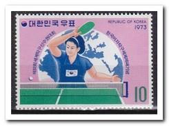 Zuid Korea 1973, Postfris MNH, Table Tennis - Korea (Zuid)