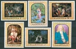 1968 Mauritius Bernardin De St.Pierre Literature Letteratura Littérature Scrittori Writers Quadri Paintings MNH** - Mauritius (1968-...)
