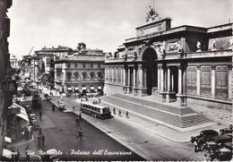 ROMA - Via Nazionale - Palazzo Dell'Esposizione - Filobus - 1960 - Roma (Rome)
