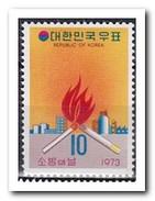 Zuid Korea 1973, Postfris MNH, Fire Protection - Korea (Zuid)