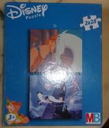 Puzzle Vintage Disney 2 X 25 Pièces - Hercule Et Peter Pan - Puzzle Games
