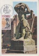 Carte Maximum  1er  Jour   DOLE   1971 - Cartes-Maximum
