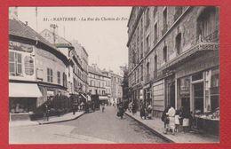 Nanterre  / La Rue Du Chemin De Fer - Nanterre