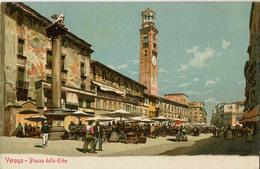 ITALIE VERONA PIAZZA DELLE ERBE - Verona