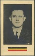 Oorlog-guerre 1940-1945 : Omer Van Roosbroeck : Noorderwijk Politiek Weggevoerde - Concentratiekamp 1945  ( 2 Scans ) - Images Religieuses