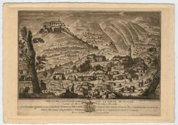 VEDUTA  DEL  CASTELLO  DI  VALMARINO   CON  LA  PIEVE  DI  CISONE      (NUOVA) - Treviso
