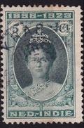 Ned. Indië: KRAS (326) Op 1923 Regeringsjubileum Kon. Wilhelmina 5 Cent Groen NVPH 160 D - Indes Néerlandaises