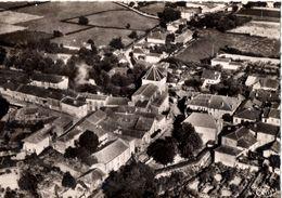 Monléon -Magnoac : Le Village, Vue Aérienne - France