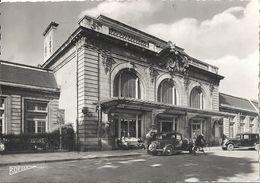 CPSM Saint-Dié La Gare Voitures Très Anciennes - Saint Die