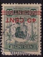 Ned. Indië: Langebalkstempel KOENINGAN (304) Op 1921 Hulpuitgifte Koningin Wilhelmina Met Opdruk 40/60 Cent NVPH 146 - Indes Néerlandaises
