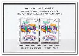 Zuid Korea 1983, Postfris MNH, Interparliamentary Conference - Korea (Zuid)