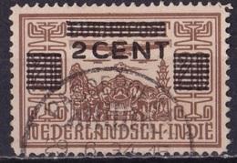 Ned. Indië: Langebalkstempel PASOEROEAN (546) Op 1934 Hulpuitgifte LP Met Opdruk  2 / 20 Cent NVPH 212 - Indes Néerlandaises