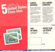 CANADA, 1988, Booklet 110a, Walrus - Ganze Markenheftchen