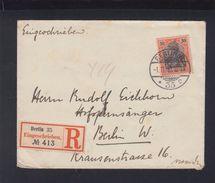 Dt. Reich R-Brief Berlin 1900 - Deutschland