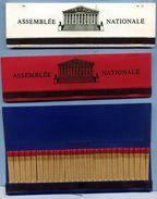 Lot De 3 Boites D'allumettes De L'Assemblée Nationale - Tabac (objets Liés)
