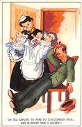 Humour - Homme Femme Couple Bébés - Humour